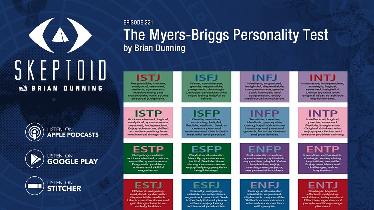The Myers Briggs Personality Test Youtube