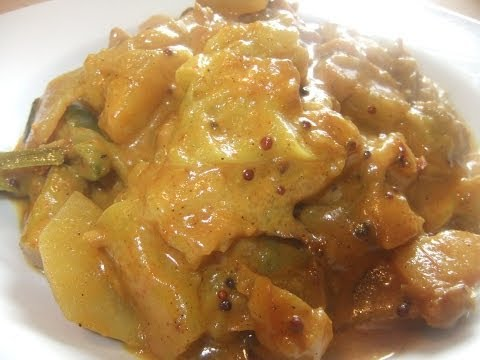 Rhubarb & Potato Curry