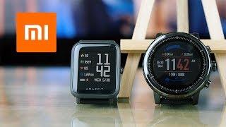 Xiaomi Amazfit Bip и Amazfit Stratos. Убийцы Apple Watch?