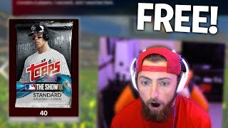 Opening 40 *FREE* MLB The Show 18 Packs! MLB The Show 18 | Diamond Dynasty Pack Opening