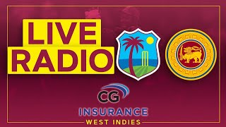 🔴LIVE RADIO   West Indies v Sri Lanka   1st CG Insurance T20I