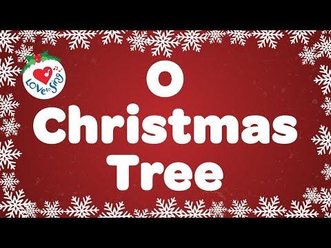 O Christmas Tree with Lyrics | Christmas Songs & Carol