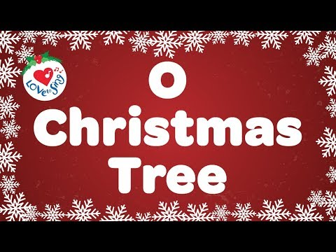 O Christmas Tree with Lyrics | Christmas Song & Carol | Children Love to Sing