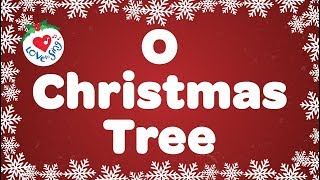 O Christmas Tree | Kids Christmas Songs | Children Love to Sing