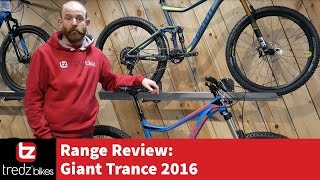 Giant Trance 2016 Range Review