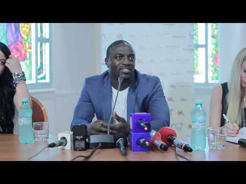 Interview with Akon (june 2013, Romania)