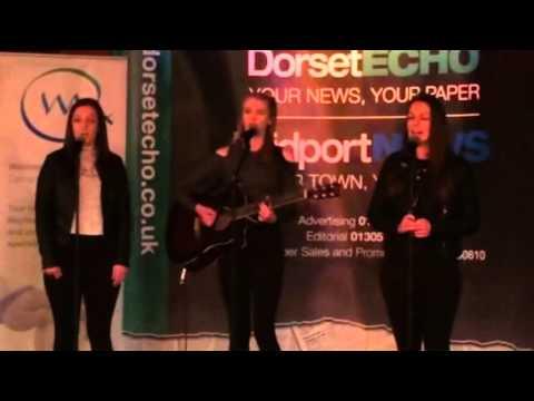 Dorsets Got Talent. Amy & The Twins. . Audition