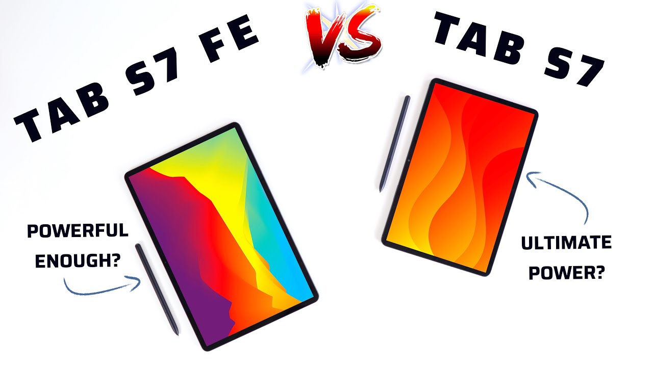 Tab S7 FE vs Tab S7 - Save your Money?!