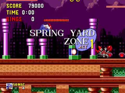 Spring yard zone Sonic the hedgehog (jazz big band remix)