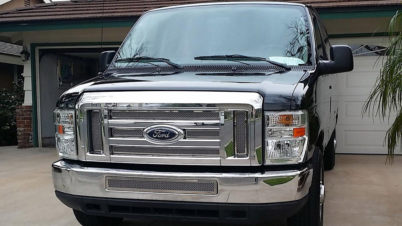 2008-2014 Ford E150, E250 & E350 Grille Install - YouTube