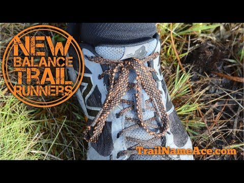 New Balance Trail Runners Vs Hiking Boots And The Heel Lock Lacing