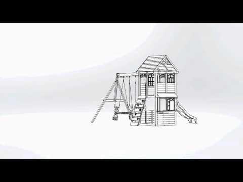 Big Backyard Premium Brooksville Wooden Play Set / Swing Set   Toys R Us Canada