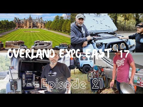 JEEP TOUR PART 2/OVERLAND EXPO EAST 2017/BILTMORE ESTATE TOUR// EFRT EP 21