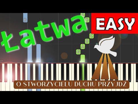 🎹 O Stworzycielu Duchu przyjdź (Hymn do Ducha Śwętego) - Piano Tutorial (łatwa wersja) 🎹