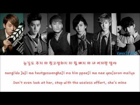 U-Kiss - She's Mine (내 여자야) [Hangul/Romanization/English] Color & Picture Coded HD