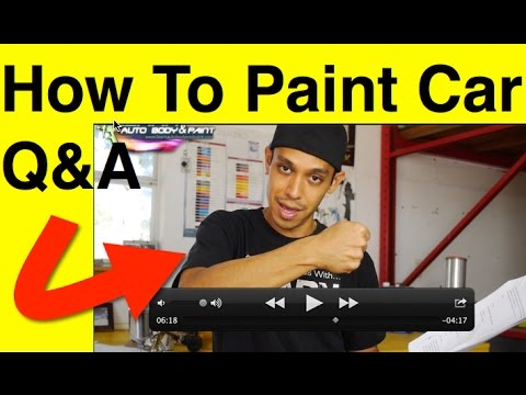 Paint a car step by step most common question and answers for What are the steps to painting a car