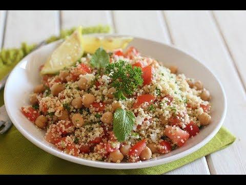 salade-de-couscous-&-pois-chiches-façon-taboulé
