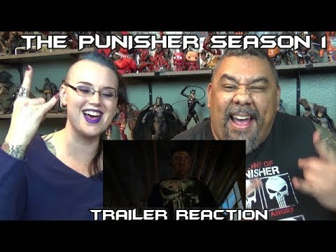 The Punisher Season One Trailer Reaction