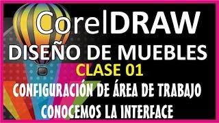 CLASE 01: CORELDRAW ORIENTADO AL DISEÑO DE MUEBLES