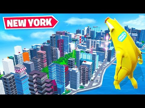SURVIVE *TINY* NEW YORK *NEW* Game Mode In Fortnite Battle Royale!