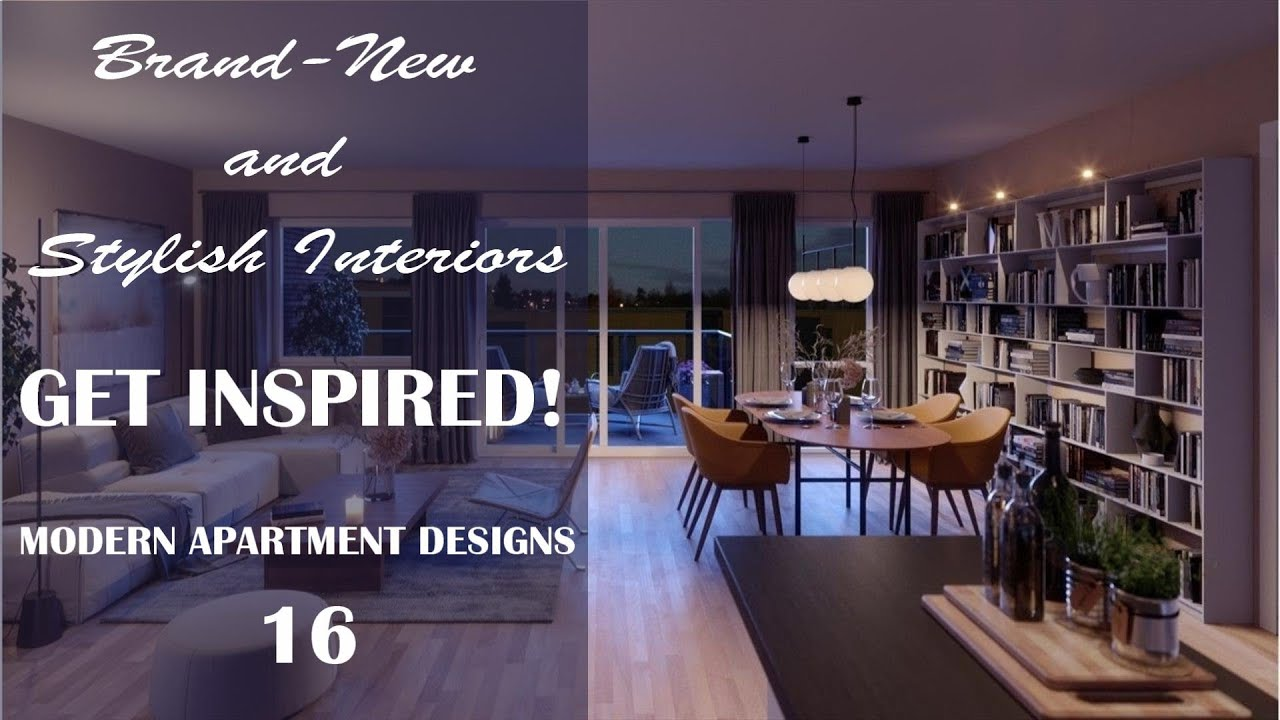 Brand New Apartment Design Ideas | Stylish Interiors