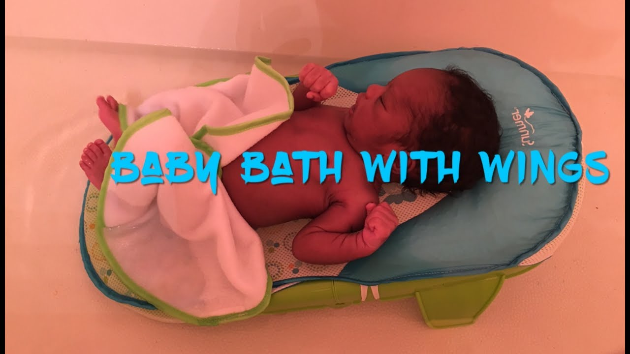 d9191a2c166 Summer Bath Sling with Warming Wings - YouTube
