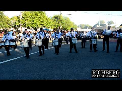 2) Grimsley High School Drumline - NC A&T HomeComing Parade 2014