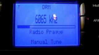 Radio Prague in DRM on 6065kHz DRM