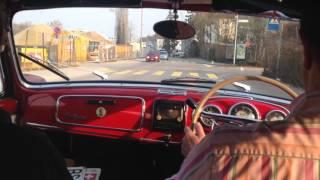 Lancia Aurelia B50 Convertible test drive in Switzerland