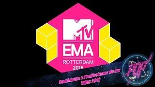 MTV EMAs 2016: Nominados y predicciones.