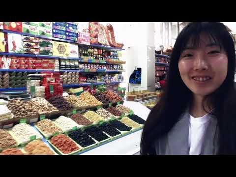 Explore a local market in Astana, Kazakhstan