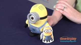Despicable Me 2 Plush Buddy Minion Stuart from Thinkway Toys