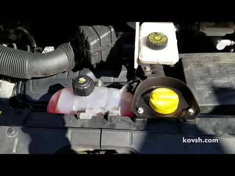 Первый признак попадания выхлопных газов в систему охлаждения, Opel Vivaro II B 1.6d, R9M