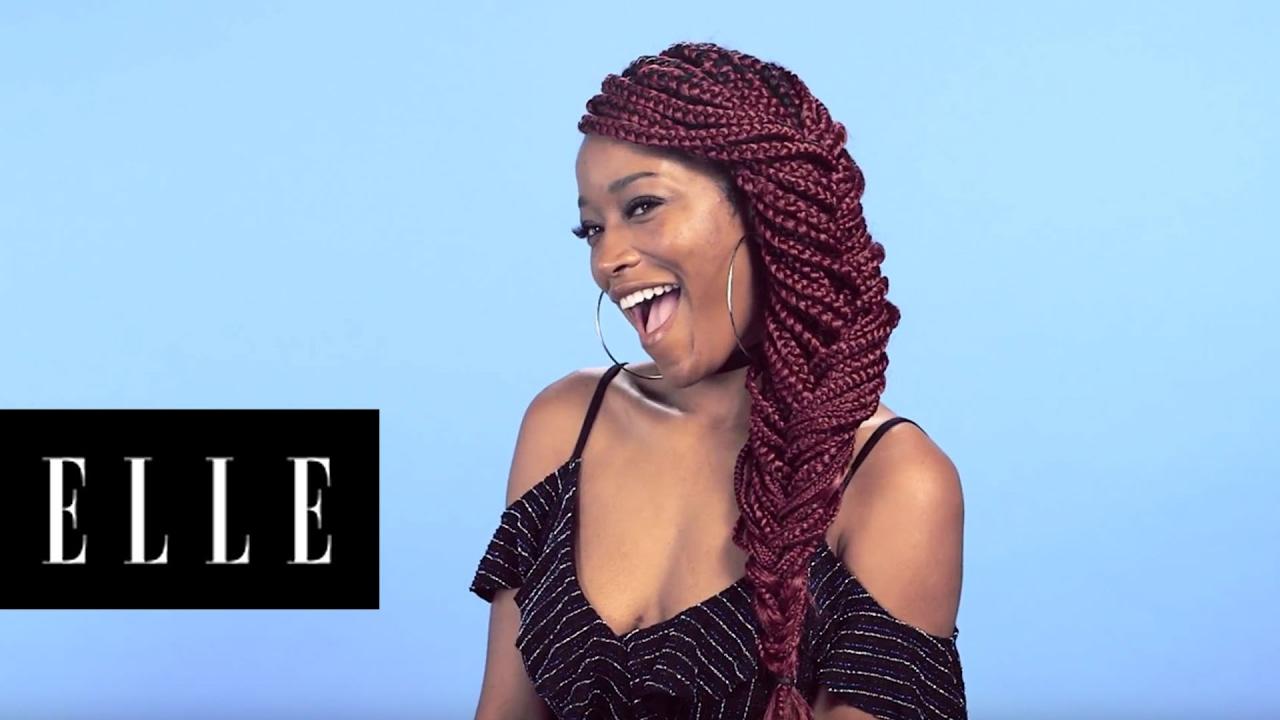 three ways to style box braids with keke palmer youtube