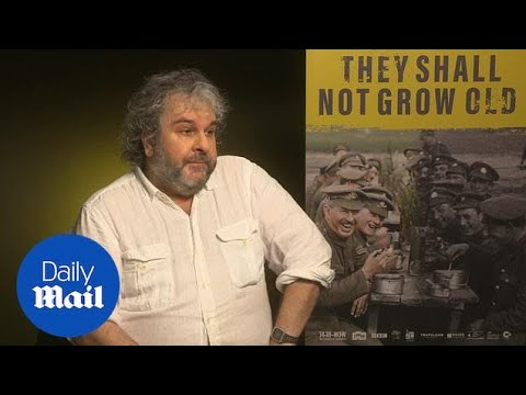 Download Peter Jackson on his WWI documentary They Shall Not Grow Old