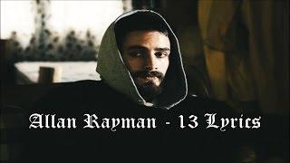 Скачать Allan Rayman 13 Lyrics