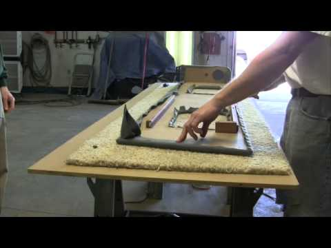 How to upholster a coaming bolster for your boat - part 2