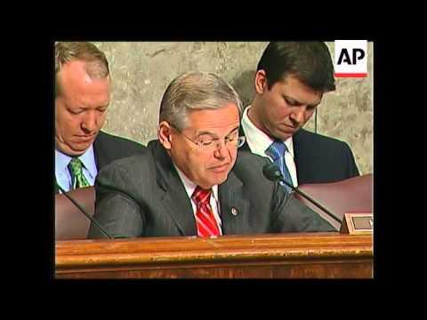 Bernanke with Bear Sterns and JP Morgan chiefs testify before Senate Banking Committee