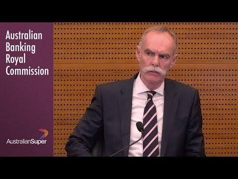 The Chief Executive Of Australian Super Testifies At The Banking Royal Commission