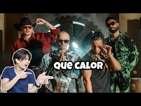 ( Reaccion ) Major Lazer - Que Calor (feat. J Balvin & El Alfa) (Official Music Video)