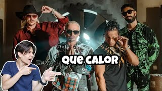 ( Reaccion ) Major Lazer - Que Calor (feat. J Balvin & El Alfa) (Official Music Video)