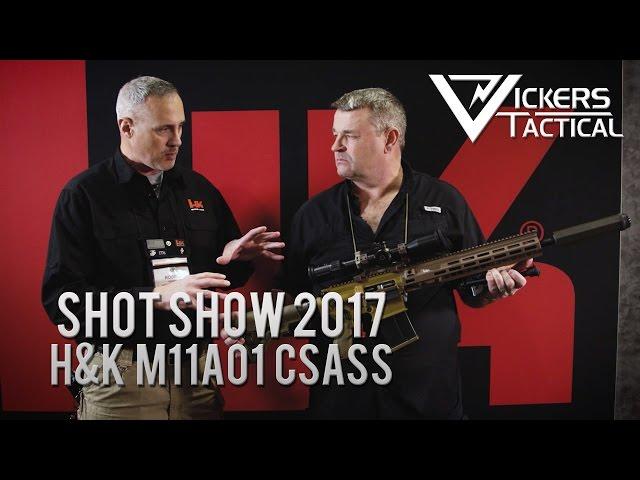 Shot Show 2017 - H&K M110A1 CSASS