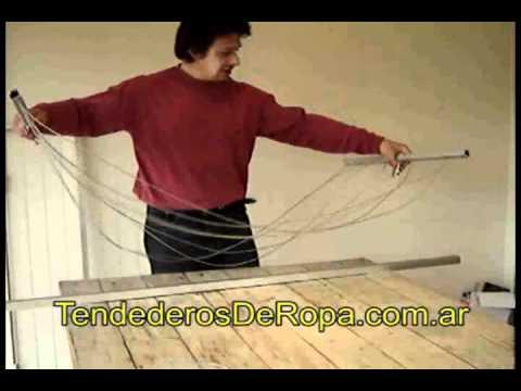 Instructivo armado parrilla gorila tendedero abaco youtube - Como hacer un tendedero de ropa ...