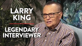 Larry King on How He Became the Interview King (Pt. 1)