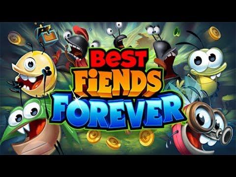 Best Fiends Forever прохождение #1 Гром Гора и Зелёные Поляны