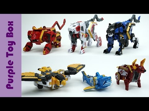 Thumbnail: Beast Guardian Animal Transformers And 3 Combination Robots