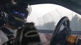 Turbo V8 Nissan 240SX Cockpit Camera Captures Drift Lap Thumbnail
