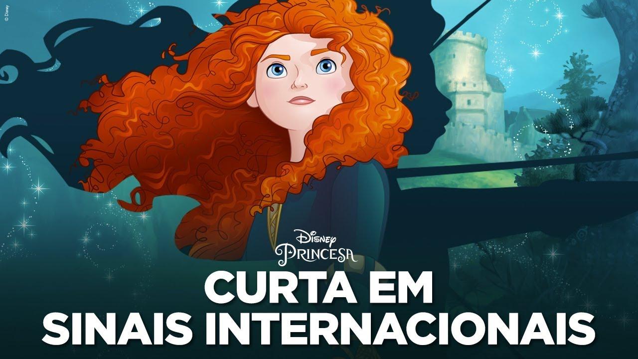 Descobrindo Valente em sinais internacionais | Disney Princesa