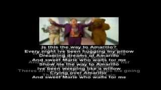 (is this the way to) Amarillo lyrics Tony Christie featuring Peter Kay,