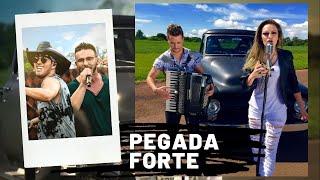 Adson e Alana + Pedro Paulo e Alex - Pegada forte ( Clipe HD Lancamento sertanejo 2015 )